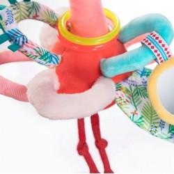 Grijp rammelaar Anais flamingo | Lilliputiens -