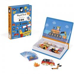 Magneetboek Racers | Janod -