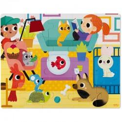 Voelpuzzel huisdieren | Janod -