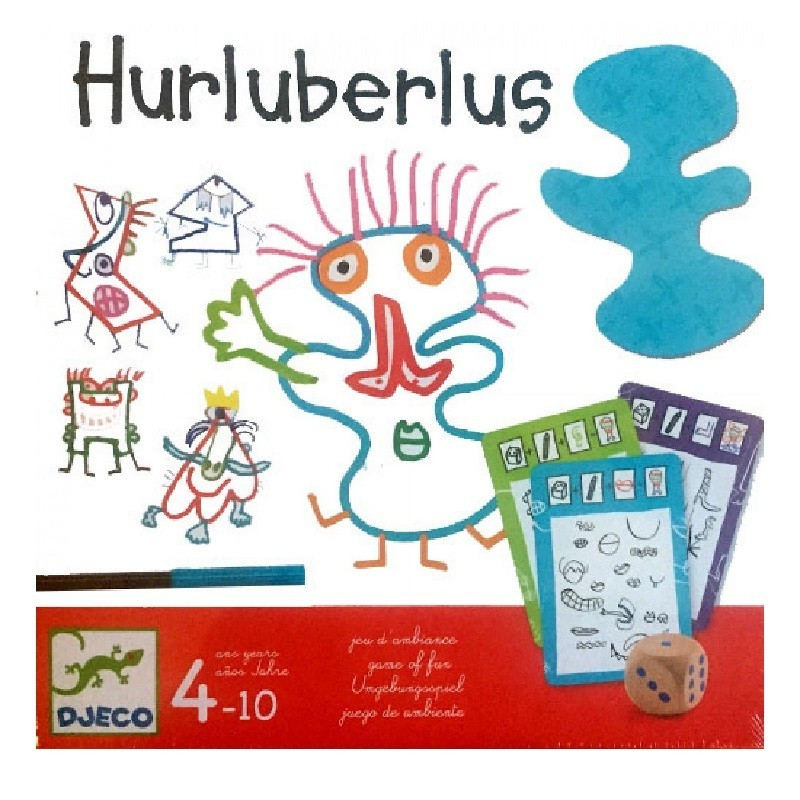 Spel Hurluberlus   Djeco -