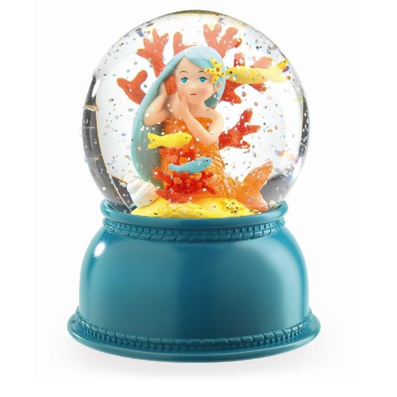 Sneeuwbol lamp zeemeermin | Djeco -