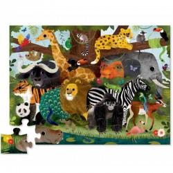Puzzel Jungle Friends | Crocodile Creek -