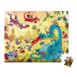 Puzzel draken | Janod -