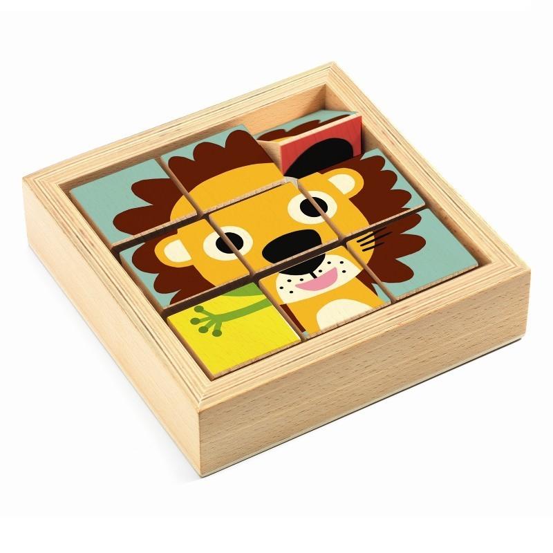 Puzzel blokken Tournanimo | Djeco -