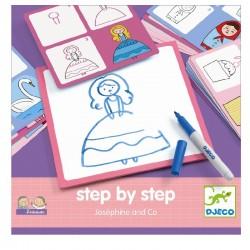 Step by step Josephine | Djeco -