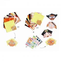 Origami Pretty Faces | Djeco -