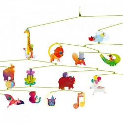 Mobiel Dieren Carnaval | Djeco -