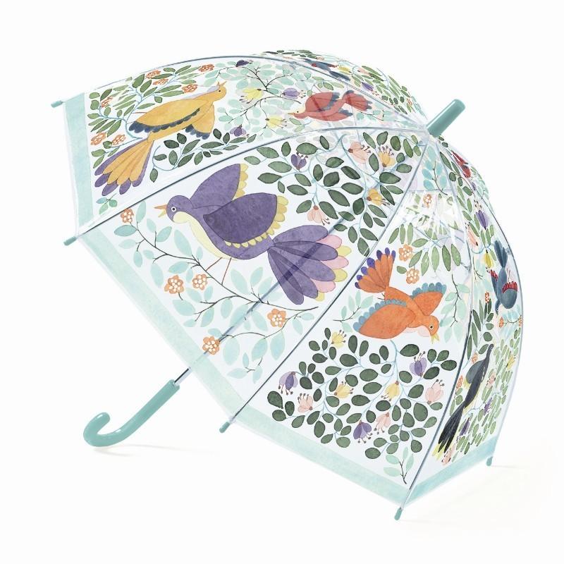Paraplu Bloemen en Vogels   Djeco -