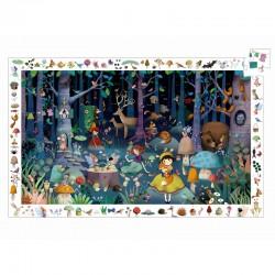 Puzzel Enchanted Forest observatie   Djeco -