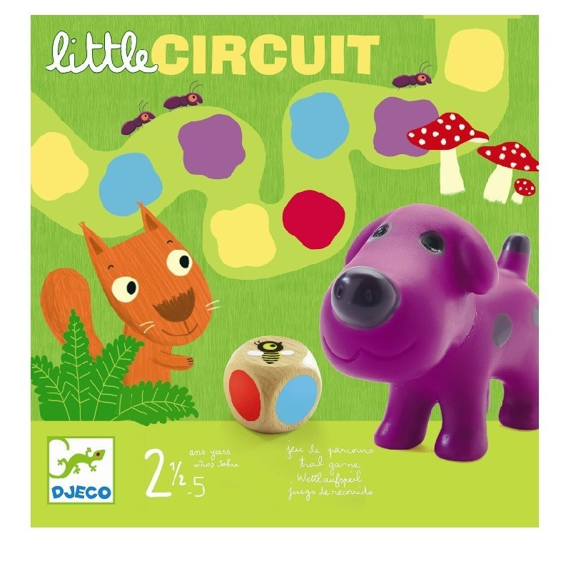 Spel Little Circuit   Djeco -