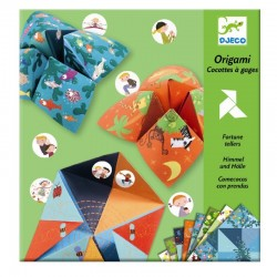 Origami Fortune Tellers Animals | Djeco -