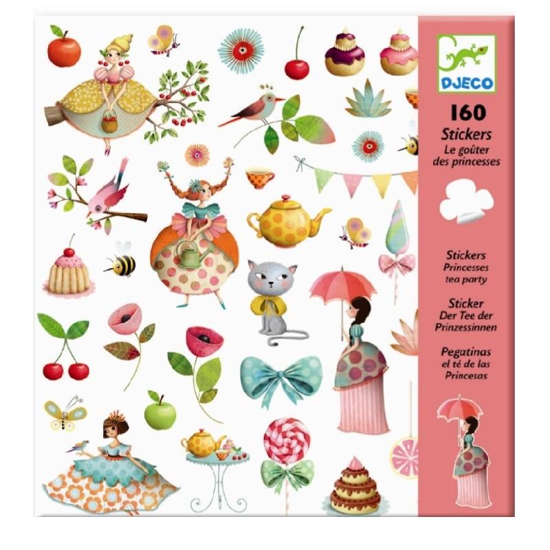 Stickers Princess Teaparty | Djeco -