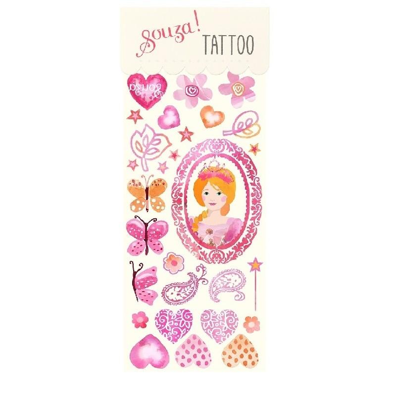 Tattoos Prinses | Souza for Kids -