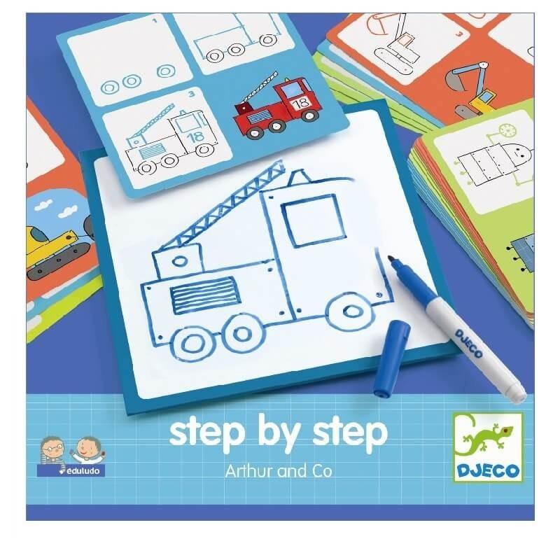Step by step Arthur | Djeco -
