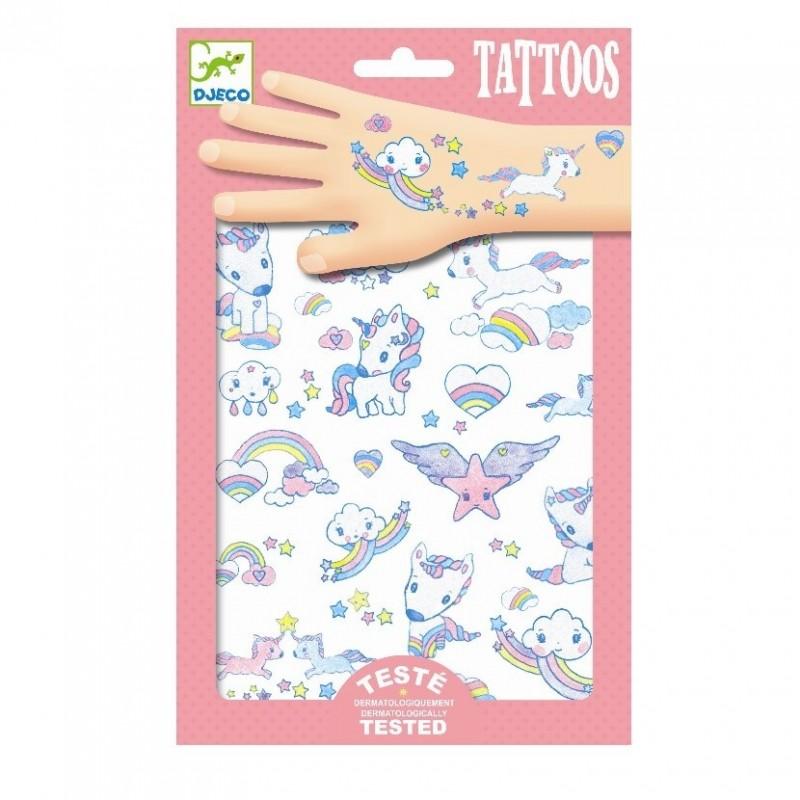 Tattoos Eenhoorn | Djeco -