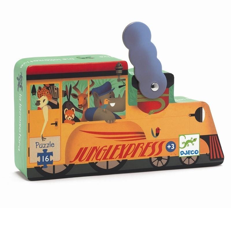 Puzzel Locomotief | Djeco -