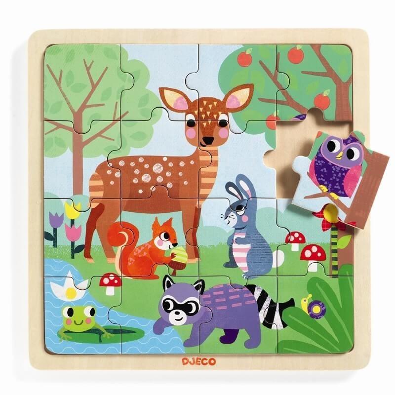 Puzzel Forest | Djeco -