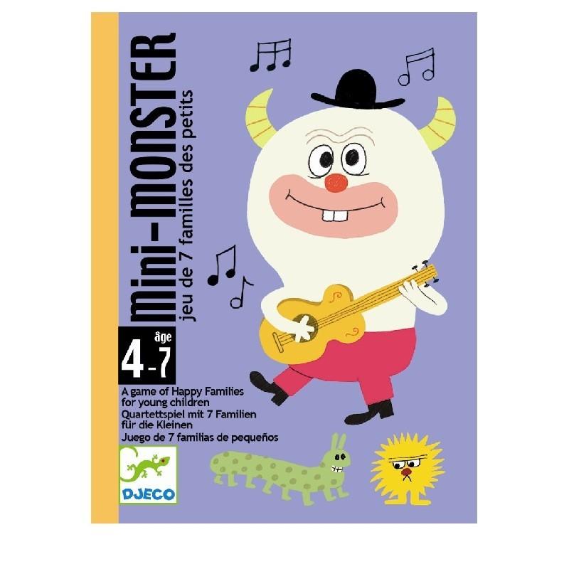 Mini Monster Family kaartspel   Djeco -