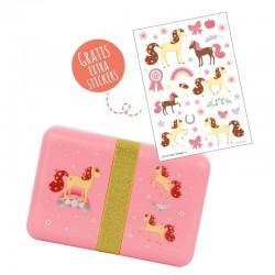 Broodtrommel Paard   A Little Lovely Company -