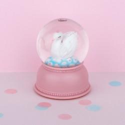 Sneeuwbol lamp Zwaan   A Little Lovely Company -