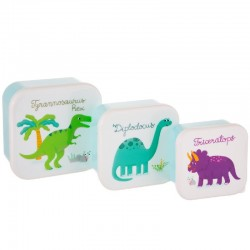 Snackdoos set Dinosaurus | Sass & Belle -