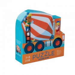 Puzzel Cementmixer 2 in 1 | Crocodile Creek -