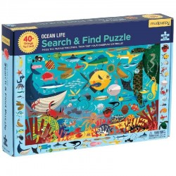 Puzzel Ocean Life | Mudpuppy -
