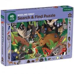 Puzzel Woodland Forest | Mudpuppy -