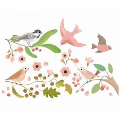 Raamstickers Vogels | Djeco -