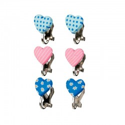 Oorclips Filipa roze/blauw | Souza for Kids -