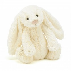 Knuffel bashful bunny cream medium | Jellycat -