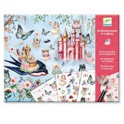Wrijfplaatjes Fairyland | Djeco -