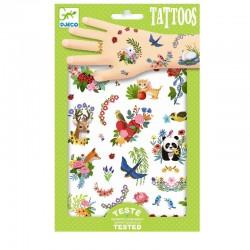 Tattoos Happy Spring | Djeco -