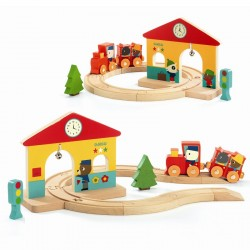 Mini Train | Djeco -