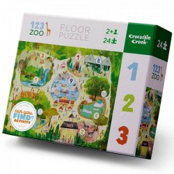 Puzzel 123 Zoo | Crocodile Creek -