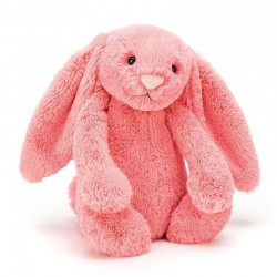 Knuffel Bashful Bunny Coral medium | Jellycat -