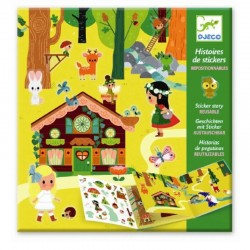 Sticker Story Magical Forest | Djeco -