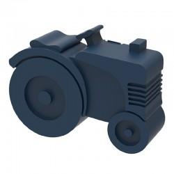 Broodtrommel Tractor donkerblauw | Blafre -