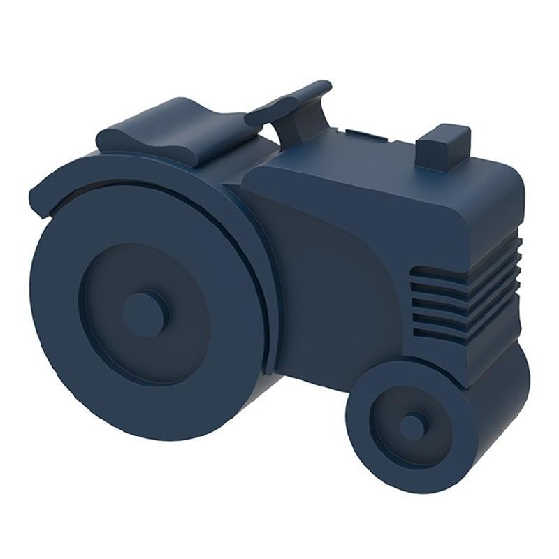 Broodtrommel Tractor donkerblauw   Blafre -
