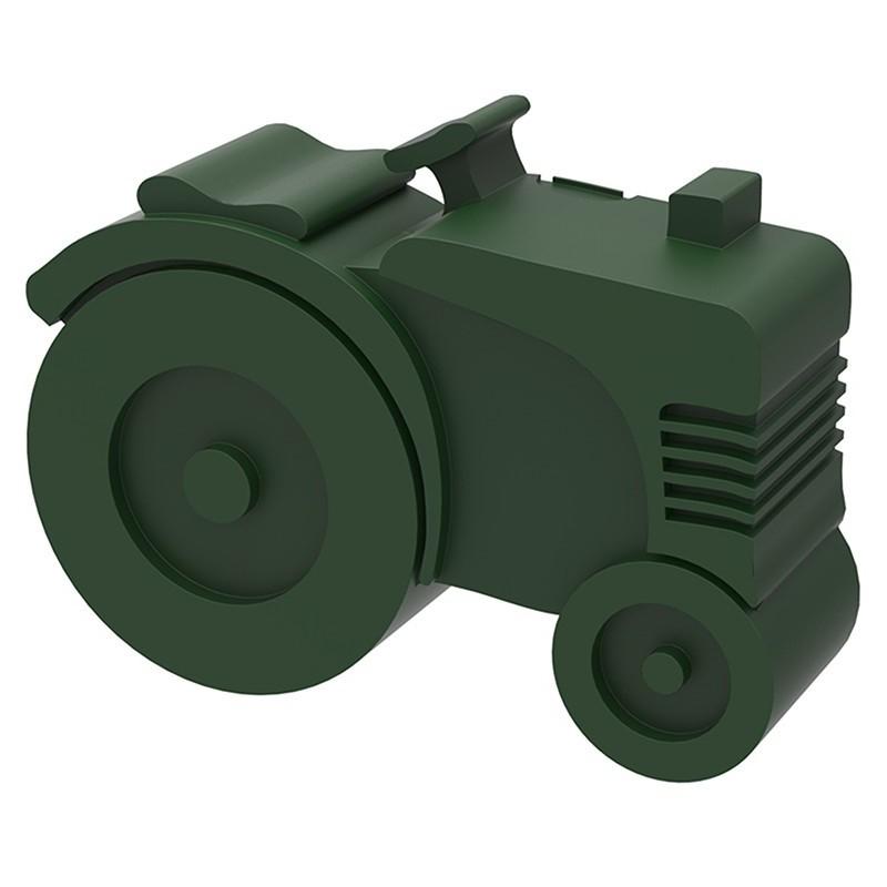 Broodtrommel Tractor groen | Blafre -