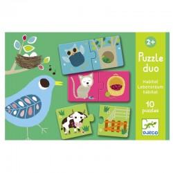 Duo puzzel Habitat | Djeco -