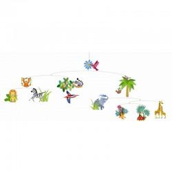 Mobiel Jungle Dieren | Djeco -