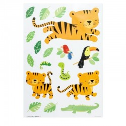 Muurstickers Jungle Tijger | A Little Lovely Company -