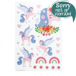 Muurstickers Eenhoorn | A Little Lovely Company -