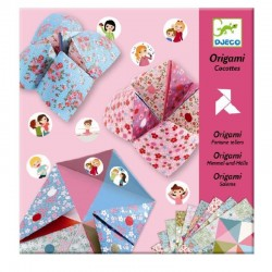 Origami Fortune Tellers Flowers | Djeco -