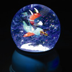 Sneeuwbol lamp vliegtuig | Djeco -