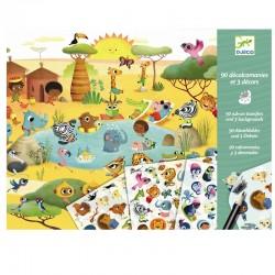 Wrijfplaatjes Savanne | Djeco -