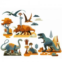 Raamstickers Dinosaurus | Djeco -