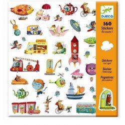 Stickers Voertuigen | Djeco -