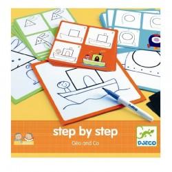 Step by step Geo & co | Djeco -